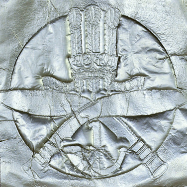 The Rubbing of The Emblem of 1st King George's Own Gurkha Rifles