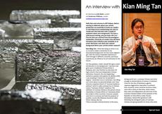 Artist interview on Art Habens Art Review