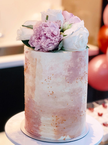 "6"" 4 layer customised cake"