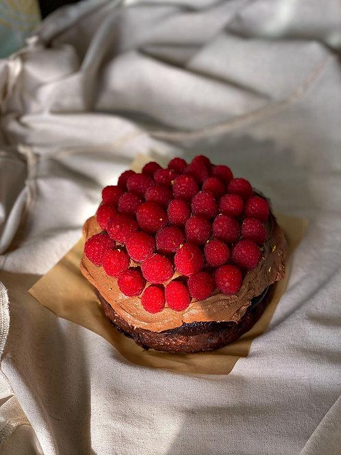 "Triple Chocolate Raspberry 6"""
