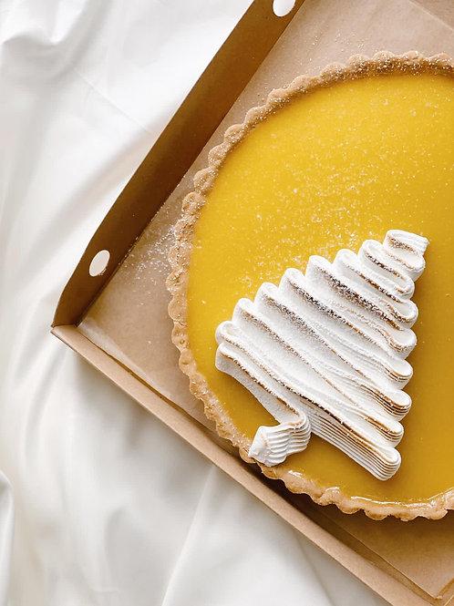 """10"""" Lemon Meringue Tart"""