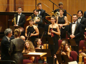"""Tournèe with F. Luisi - """"Alla Scala"""" Theater Orchestra Academy"""