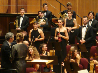 "Tournèe with F. Luisi - ""Alla Scala"" Theater Orchestra Academy"