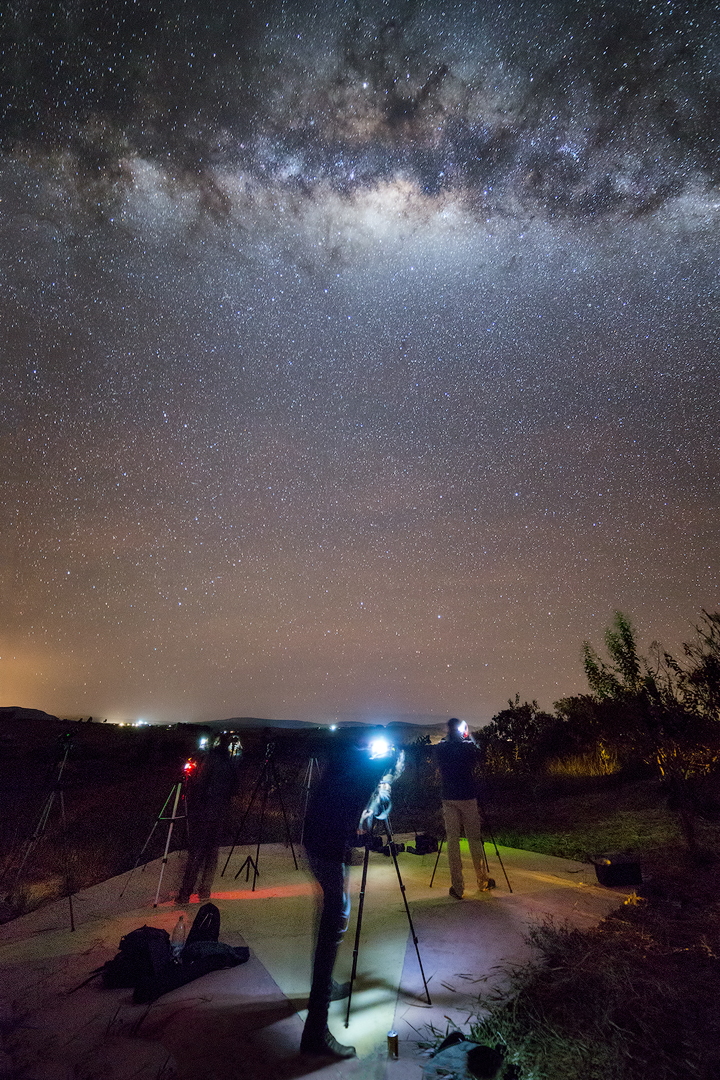 Curso de Astrofotografia 2016