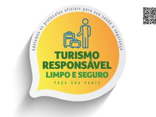 Selo Turismo Responsável Limpo e Seguro