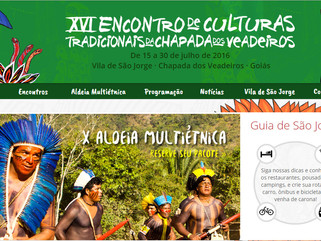 XVI Encontro de Culturas Tradicionais da Chapada dos Veadeiros