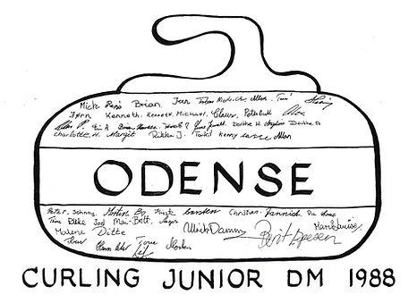 Junior-DM 1988 i Odense, deltagernavne.j