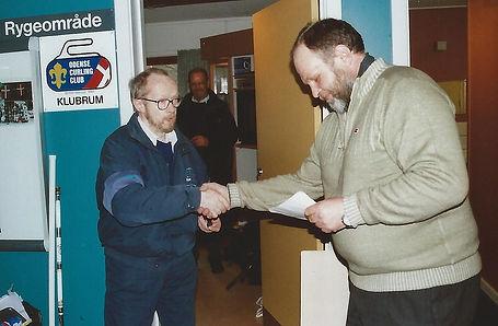 Asger Svensgaard æresmedlem, OCC-jubilæu