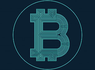 digital-bitcoin-currency-symbol-vector-d