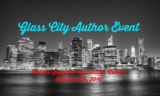 The Glass City Author Event, Toledo, Ohio