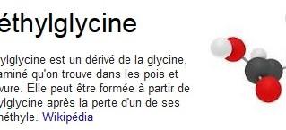 DMG - La diméthylglycine