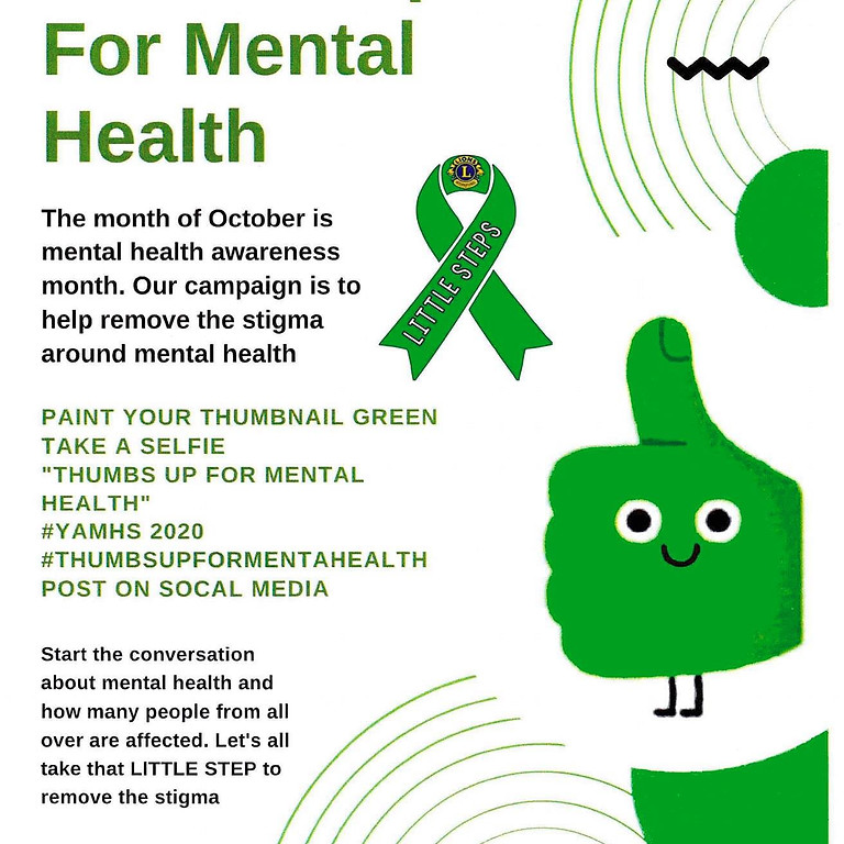 Thumbs Up for Mental Health