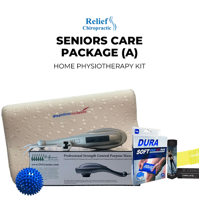 neck and shoulder home pysiotheraphy kit