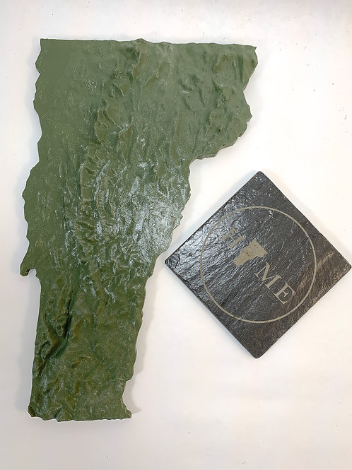 3D printed VT topographical map