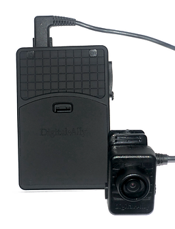 This is the Body Worn Camera that is used within the Demarest Police Department.