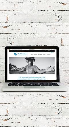 Reach Out Niagara Website Chels Aps Graphic Design