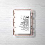 I AM Psalm 103 Poster