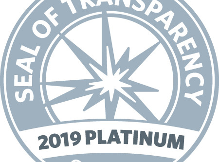 We've earned a 2019 platinum seal of transparency from GuideStar