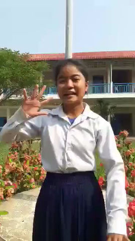"""""""What the Cambodia Academy means to me."""""""