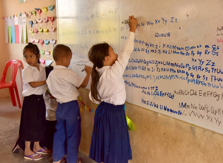 New white boards for all classrooms