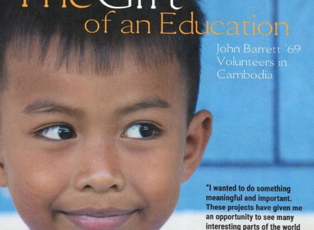 Founding member John Barrett featured in Serra High School publication