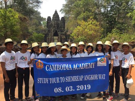 9th Graders Visit Angkor Wat