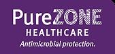 PureZone Healthcare Logo Purple and Whit