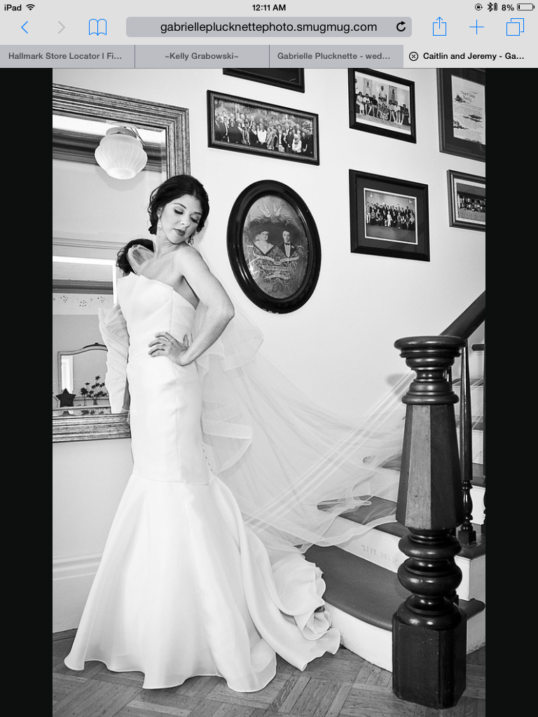 Caitlin McCloskey Wedding Dress