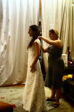 Rosie's Wedding Dress Fitting