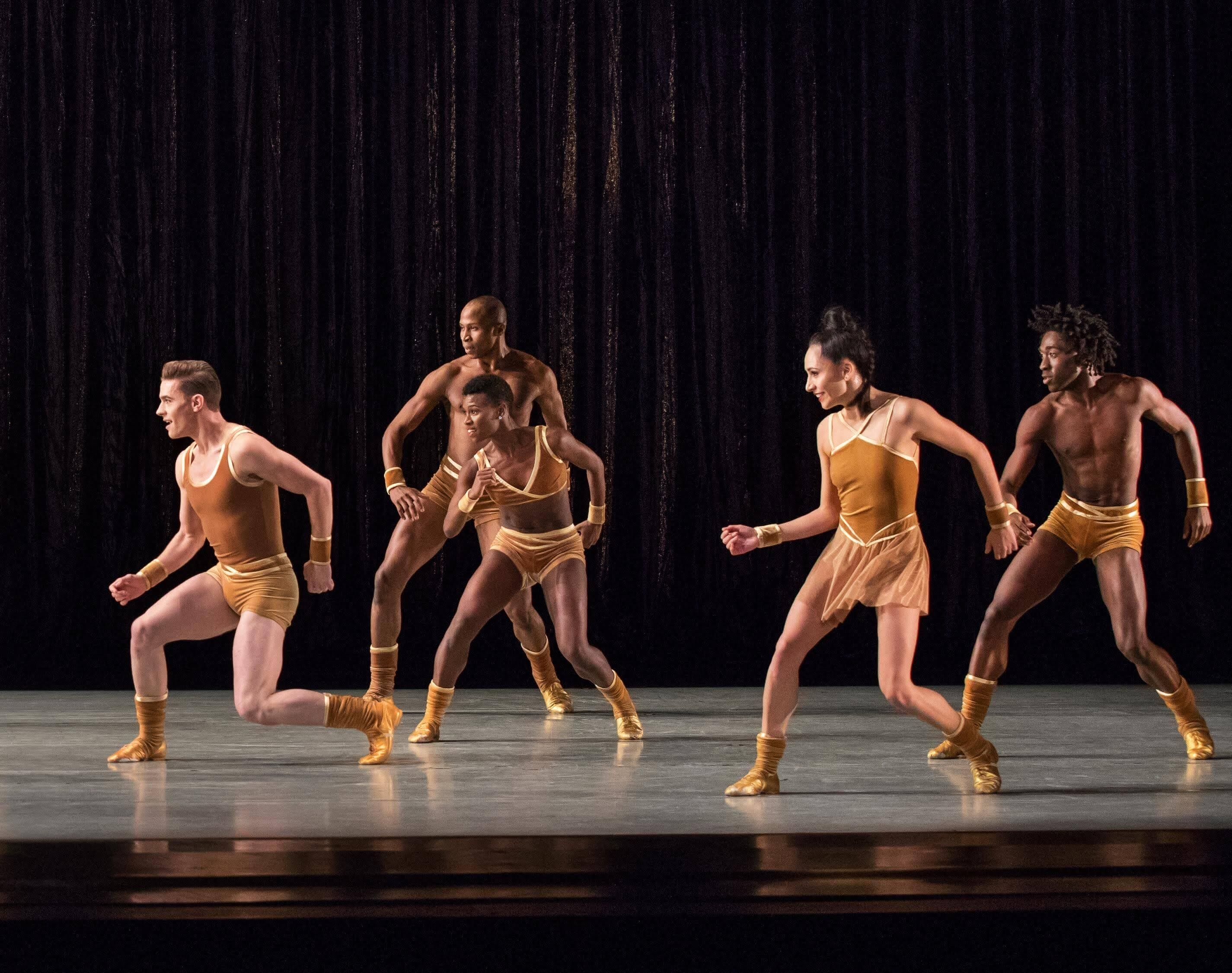 AAADT in Twyla Tharp's The Golden Sectio