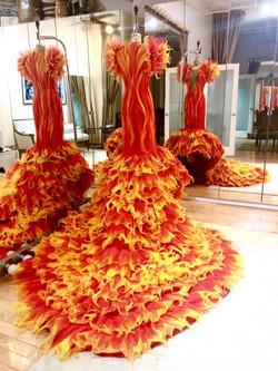 The Faena Follies, Flame Dress