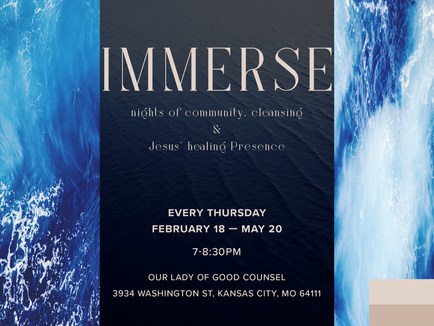 Immerse: For All Who Thirst