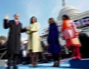blurred Obama