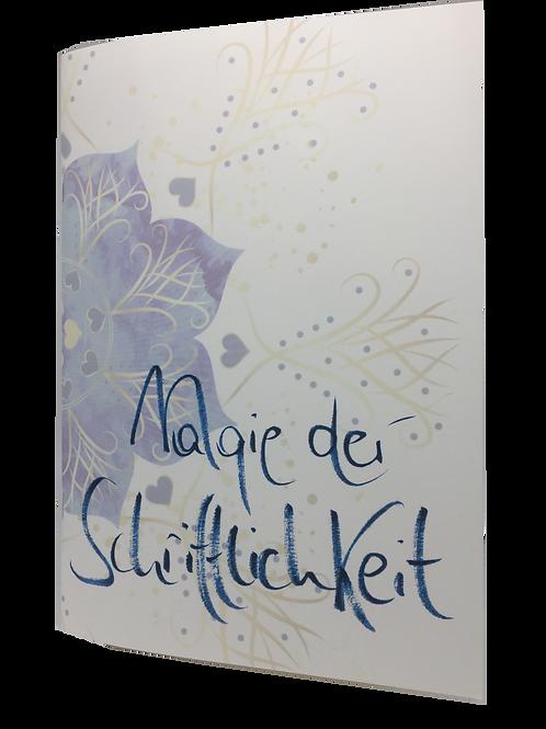 """Notizbuch """"Magie der Schriftlichkeit"""""""