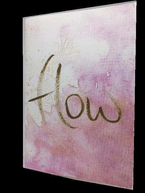 """Notizbuch """"flow"""""""