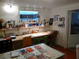 åpent verksted, art workshop olso