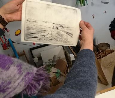 etching class, dyptrykk kurs, art workshop oslo