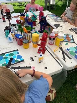 summerschool art, artmatters, kids art oslo