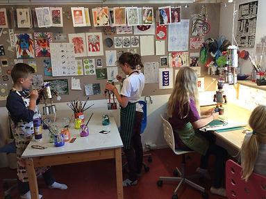 kreative hender kunst kurs oslo, sommerskolen kreativ