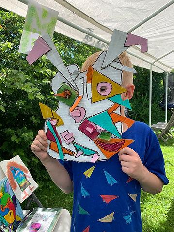 sommerskole, kreativekurs barn, malingskurs, art for kids olso