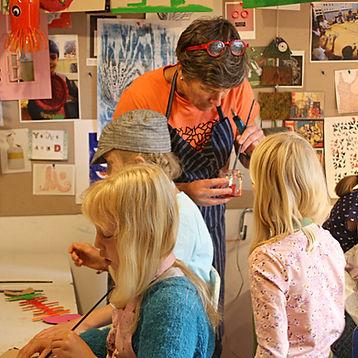 creative kids, creative art class oslo