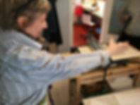 kunstkurs, art class oslo, printmaking, grafikk, linosnitt