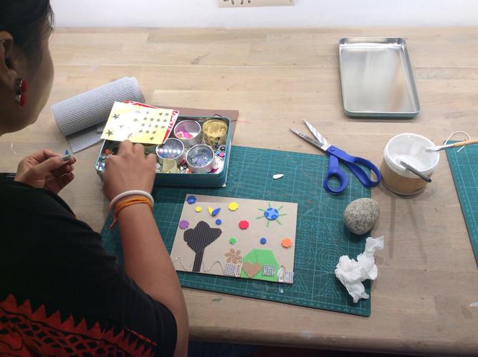 Printing, chai and pokoras...
