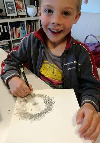 sommerskole, kreativitet, maling for barn, kids art class oslo
