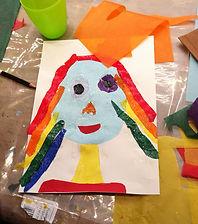 kunstkurs barn, creative classes, art class olso, painting, drawing kids