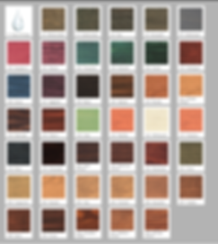 Wood Restoration Stain Color Chart