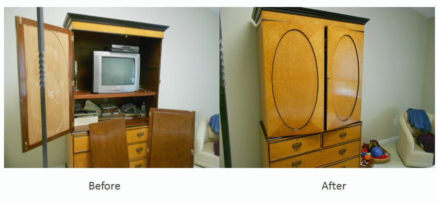 TV stand repairs