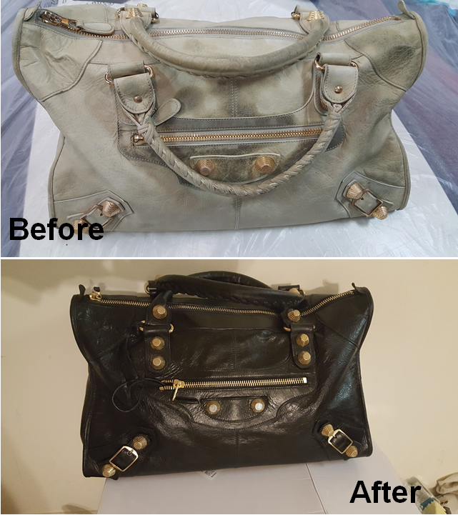 Balenciaga Bag Restoration Redye