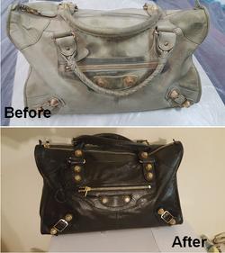 Balenciaga Bag Restoration Redye