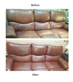 Leather Sofa Redye